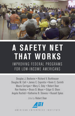 A Safety Net That Works: Improving Federal Programs for Low-Income Americans (Hardback)