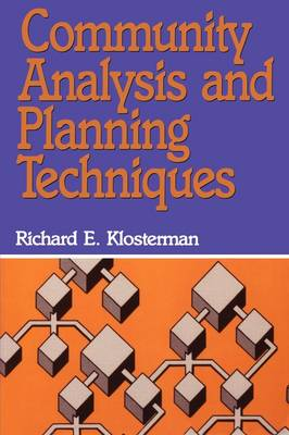 Community Analysis and Planning Techniques (Paperback)