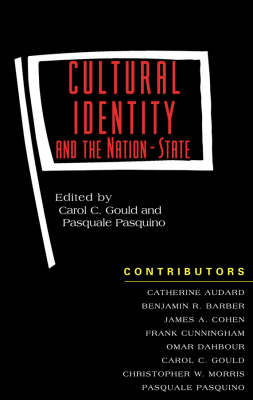 Cultural Identity and the Nation-State (Paperback)