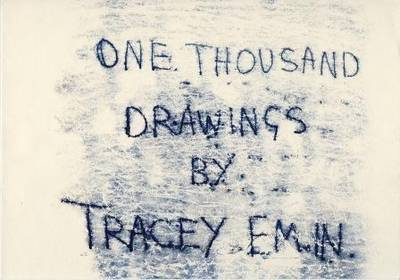One Thousand Drawings by Tracey Emin (Hardback)