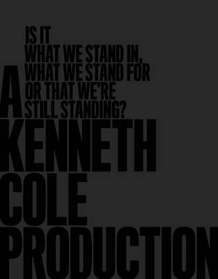 A Kenneth Cole Production (Hardback)