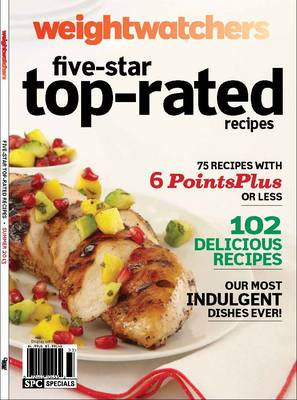 Weight Watchers Five-star Top-rated Recipes Summer (Paperback)