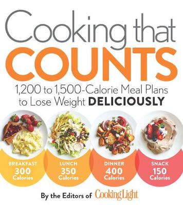 Cooking That Counts: 1,200 to 1,500-Calorie Meal Plans to Lose Weight Deliciously (Paperback)