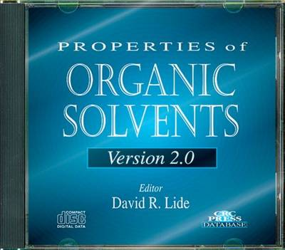 Properties of Organic Solvents (CD-ROM)
