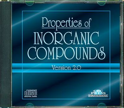 Properties of Inorganic Compounds: Version 2.0 (CD-ROM)