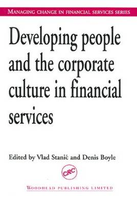 Developing People and the Corporate Culture in Financial Services (Paperback)