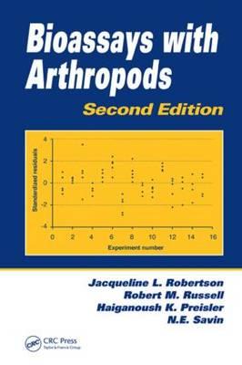 Bioassays with Arthropods, Second Edition (Hardback)