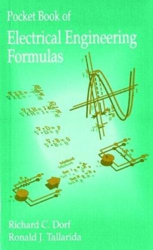 Pocket Book of Electrical Engineering Formulas (Paperback)