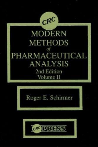 Modern Methods of Pharmaceutical Analysis, Second Edition, Volume II (Hardback)