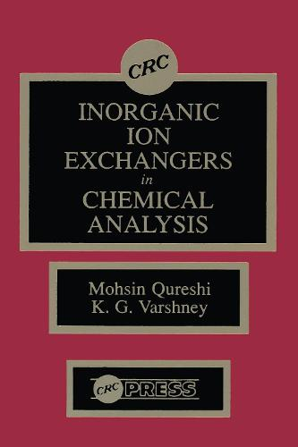Inorganic Ion Exchangers in Chemical Analysis (Hardback)