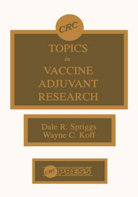 Topics in Vaccine Adjuvant Research (Hardback)