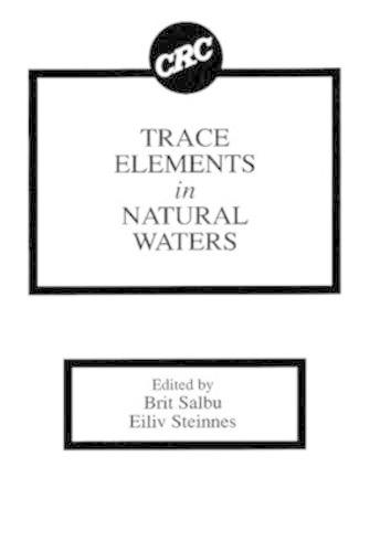 Trace Elements in Natural Waters (Hardback)