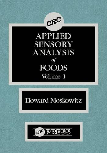 Applied Sensory Analy of Foods (Hardback)
