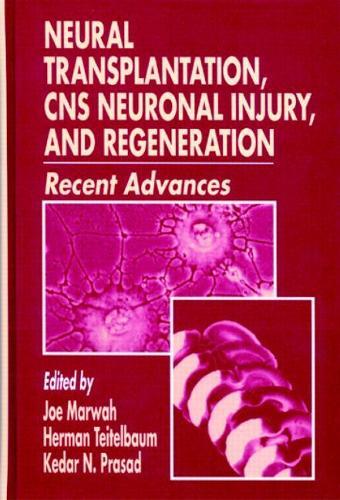 Neural Transplantation, CNS Neuronal Injury, and Regeneration (Hardback)