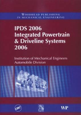 IPDS 2006 Integrated Powertrain & Driveline Systems 2006 (Paperback)