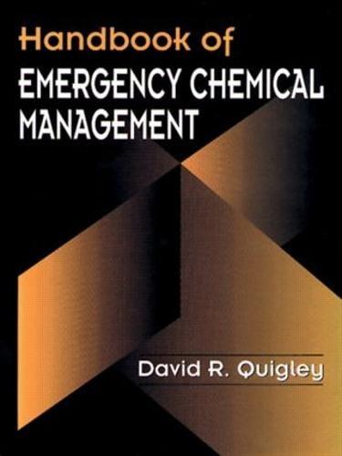 Handbook of Emergency Chemical Management (Hardback)