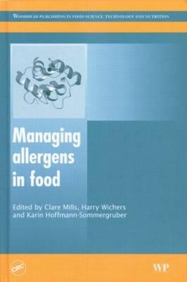 Managing Allergens in Food (Hardback)