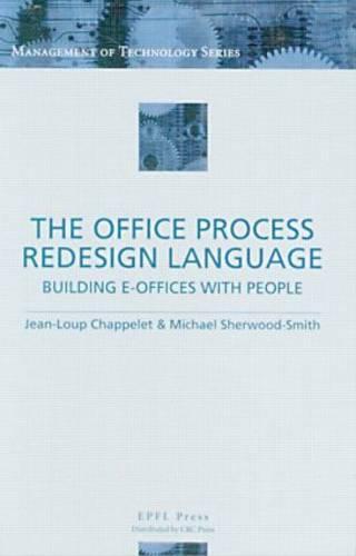 The Office Process Redesign Language (Hardback)