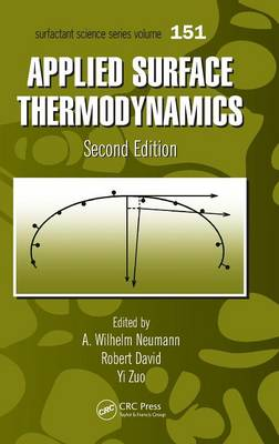 Applied Surface Thermodynamics, Second Edition - Surfactant Science (Hardback)