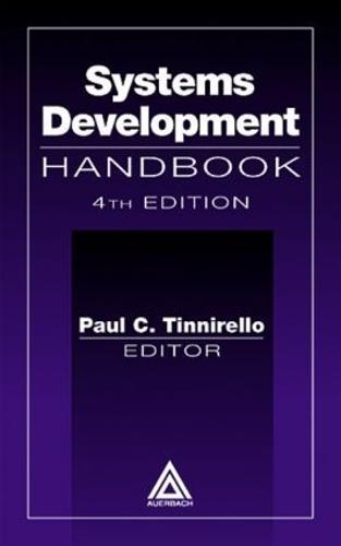 Systems Development Handbook, Fourth Edition (Hardback)