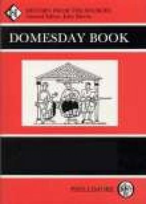 The The Domesday Book: Domesday Book Cheshire Cheshire Vol 26 (Paperback)