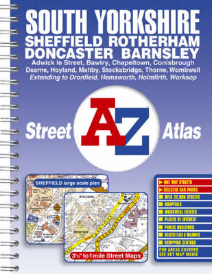South Yorkshire Street Atlas (Spiral bound)