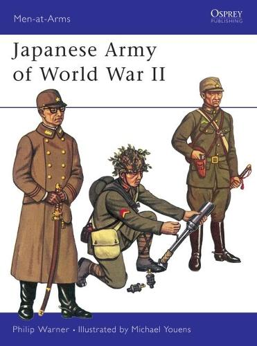 Japanese Army of World War II - Men-at-Arms (Paperback)