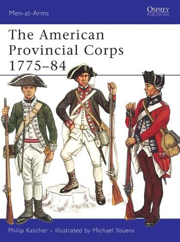 American Provincial Corps - Men-at-Arms (Paperback)