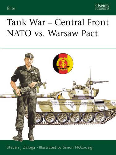 Tank Combat Central Front: NATO versus Warsaw Pact - Elite 26 (Paperback)