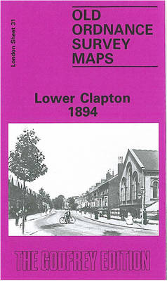 Lower Clapton 1894: London Sheet   031.2 - Old Ordnance Survey Maps of London (Sheet map, folded)