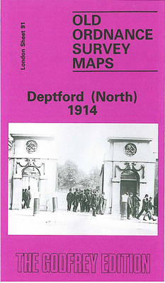 Deptford (North) 1914: London Sheet 091.3 - Old O.S. Maps of London (Sheet map, folded)