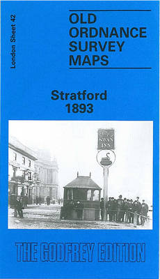 Stratford 1893: London Sheet 042.2 - Old Ordnance Survey Maps of London (Sheet map, folded)