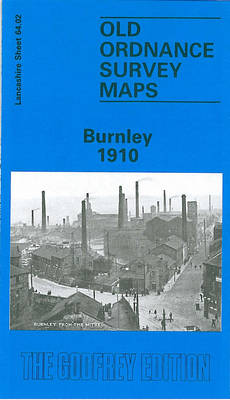 Burnley 1910: Lancashire Sheet 64.02 - Old O.S. Maps of Lancashire (Sheet map, folded)
