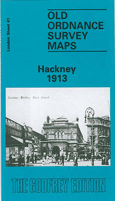 Hackney 1913: London Sheet 041.3 - Old Ordnance Survey Maps of London (Sheet map, folded)