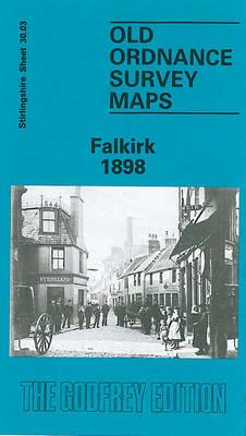 Falkirk 1898: Stirlingshire Sheet 30.03 - Old O.S. Maps of Stirlingshire (Sheet map, rolled)
