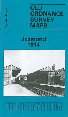 Jesmond 1914: Tyneside Sheet 4 - Old Ordnance Survey Maps of Tyneside (Sheet map, folded)