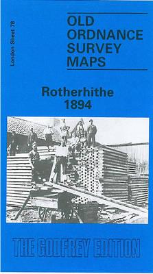 Rotherhithe 1894: London Sheet 078.2 - Old O.S. Maps of London (Sheet map, folded)