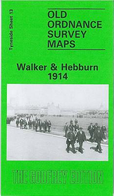 Walker and Hebburn 1914: Tyneside Sheet 13 - Old Ordnance Survey Maps of Tyneside (Sheet map, folded)