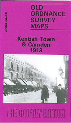 Kentish Town and Camden 1913: London Sheet   038.3 - Old Ordnance Survey Maps of London (Sheet map, folded)