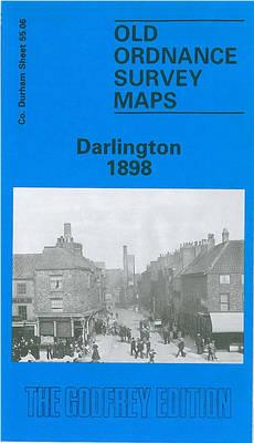 Darlington 1898: Durham Sheet 55.06 - Old Ordnance Survey Maps of County Durham (Sheet map, folded)