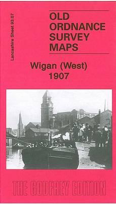 Wigan West 1908: Lancashire Sheet 93.07 - Old O.S. Maps of Lancashire (Sheet map, folded)