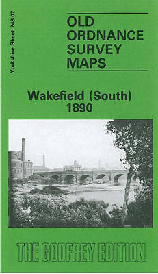 Wakefield (South) 1890: Yorkshire Sheet 248.07 - Old O.S. Maps of Yorkshire (Sheet map, folded)