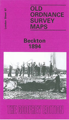 Beckton 1894: London Sheet 067.2 - Old Ordnance Survey Maps of London (Sheet map, folded)