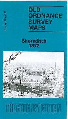 Shoreditch 1872: London Sheet 051.1 - Old Ordnance Survey Maps of London (Sheet map, folded)