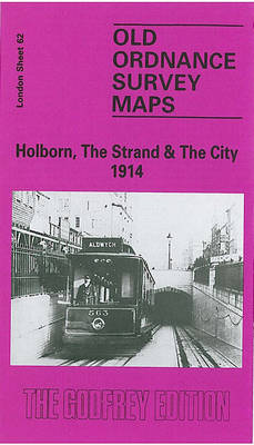 Holborn, Strand and City 1914: London Sheet 062.3 - Old Ordnance Survey Maps of London (Sheet map, folded)