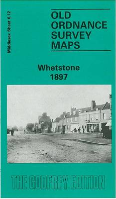 Whetstone 1897: Middlesex Sheet  06.12 - Old O.S. Maps of Middlesex (Sheet map, folded)