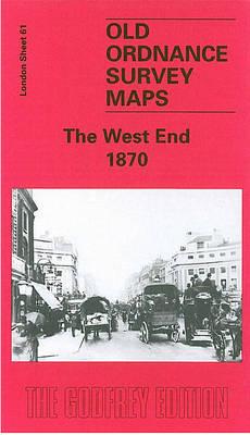 West End 1870: London Sheet 061.1 - Old Ordnance Survey Maps of London (Sheet map, folded)
