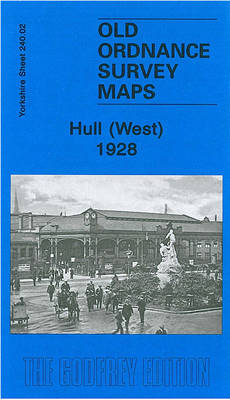Hull West 1928: Yorkshire Sheet 240.02b - Old O.S. Maps of Yorkshire (Sheet map, folded)