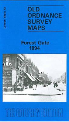 Forest Gate 1894: London Sheet 043.2 - Old Ordnance Survey Maps of London (Sheet map, folded)