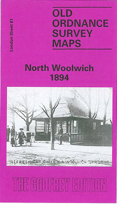 North Woolwich 1894: London Sheet 081.2 - Old O.S. Maps of London (Sheet map, folded)